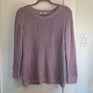 Sweaters - Lavender knit sweater